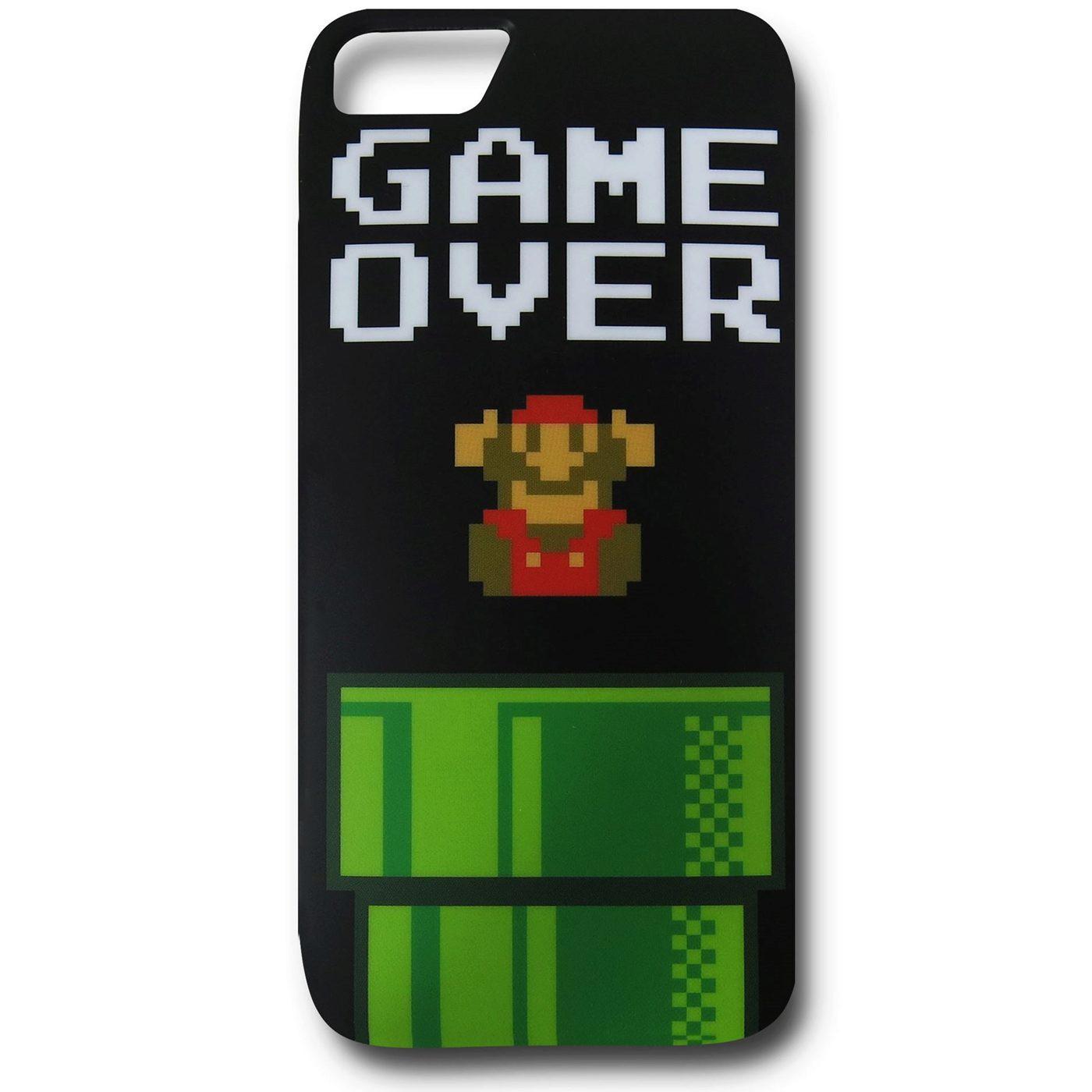 Nintendo Mario Game Over iPhone 5 Case