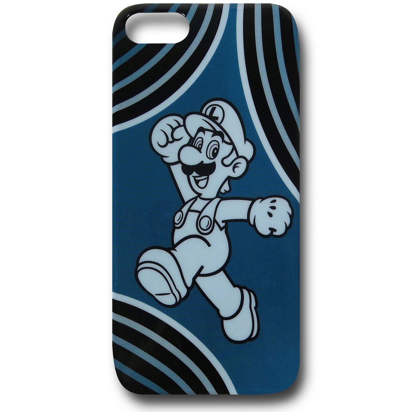 Nintendo Luigi Blue iPhone 5 Case