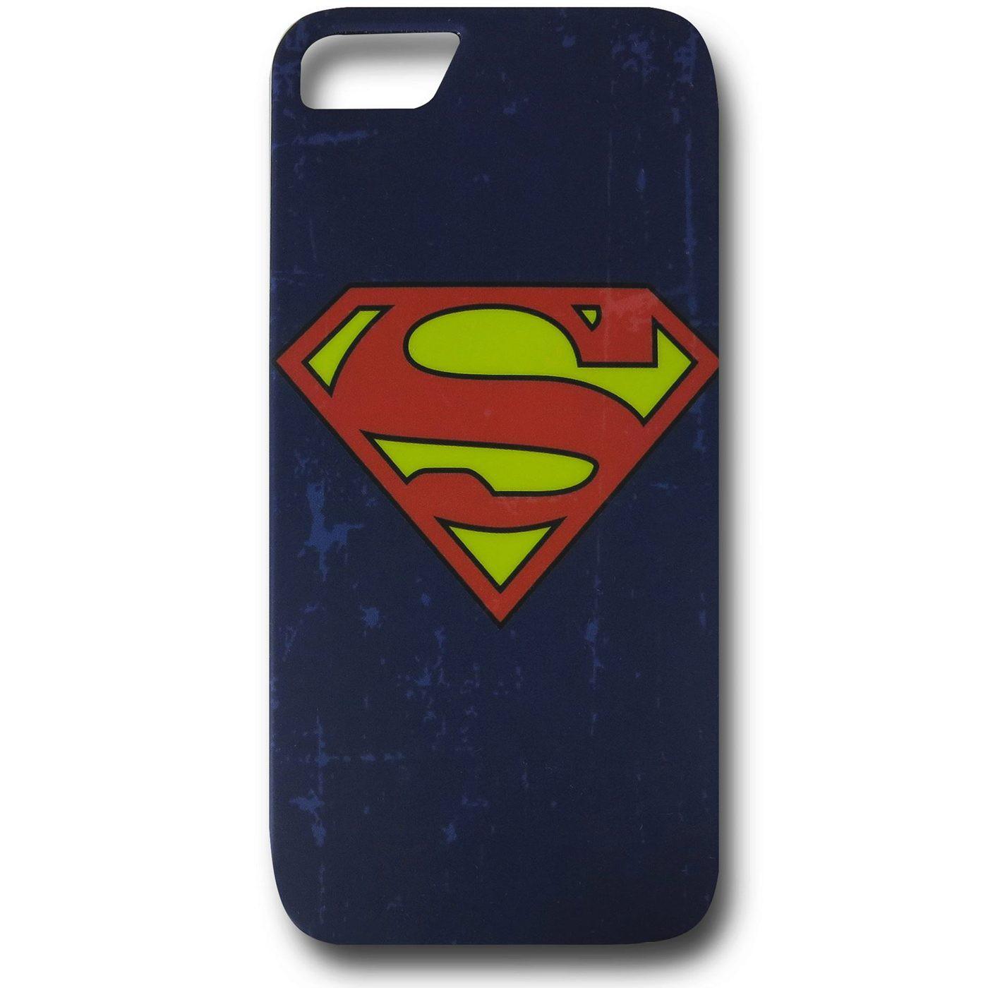 Superman Distressed Symbol iPhone 5 Case