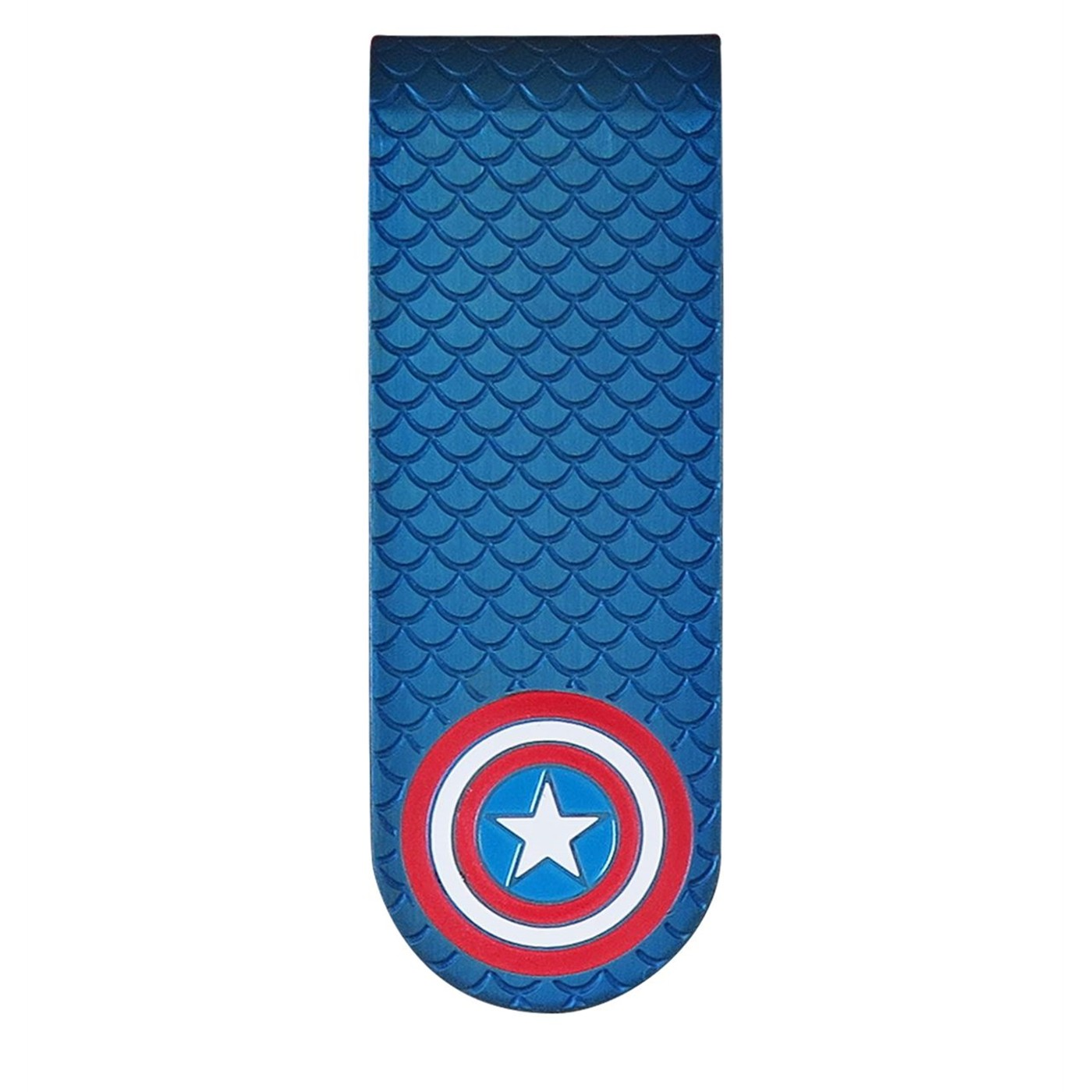 Captain America Stainless Steel Plated Money Clip