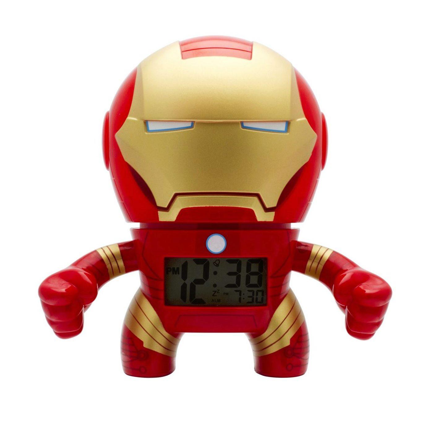 Iron Man Bulb Botz Clock