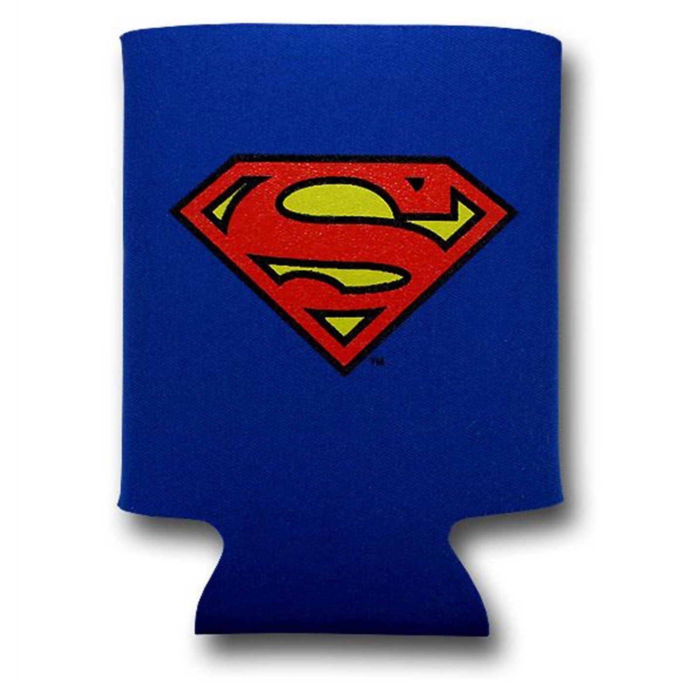 Superman Symbol Can and Bottle Cooler