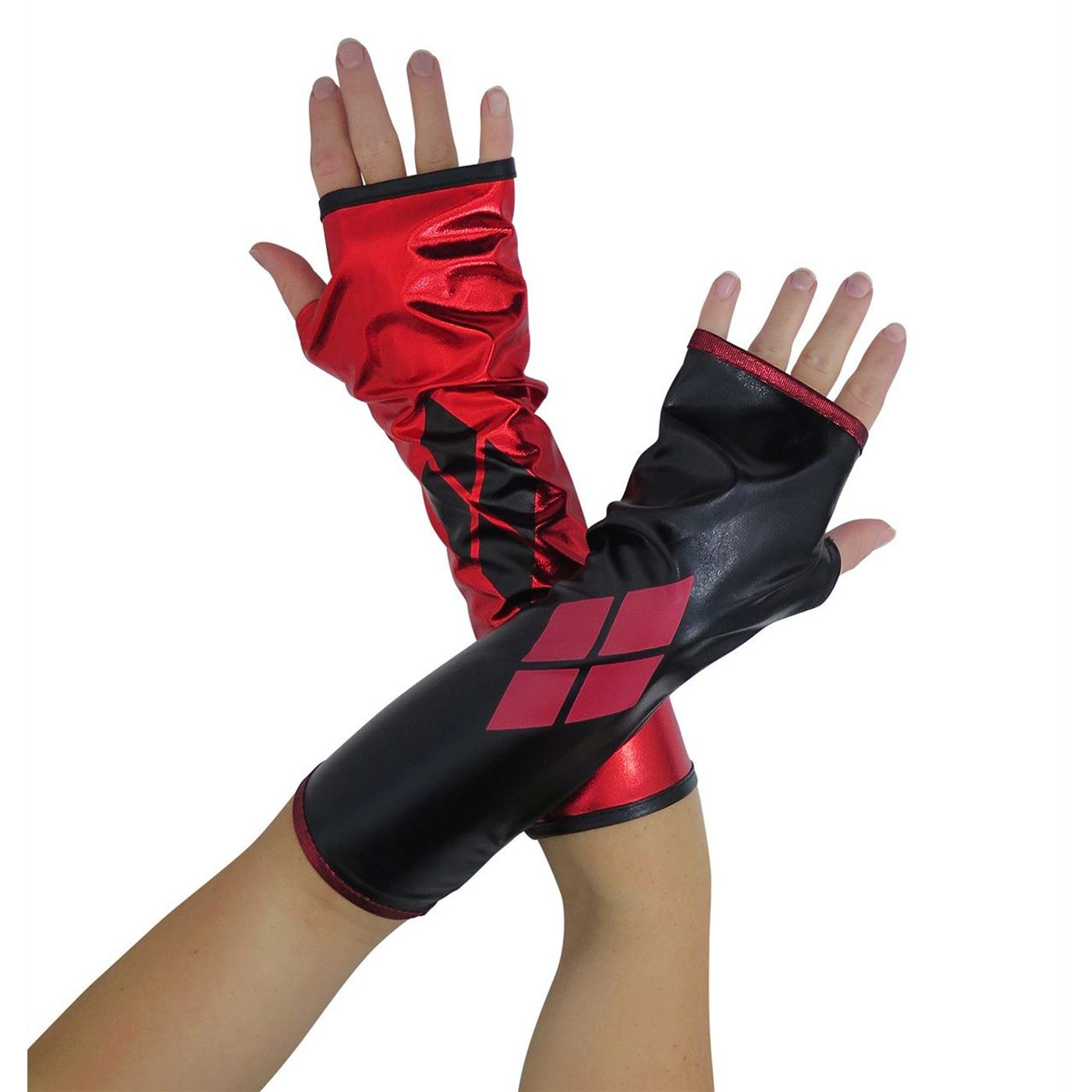 Harley Quinn Costume Gauntlets