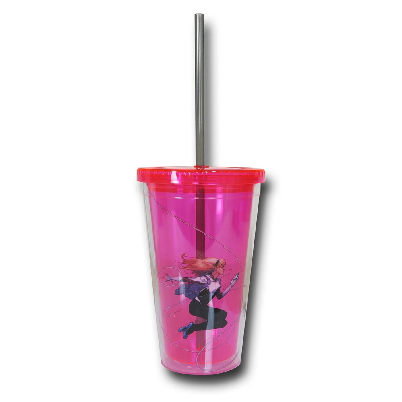 Spider-Gwen 18 oz. Acrylic Cold Cup