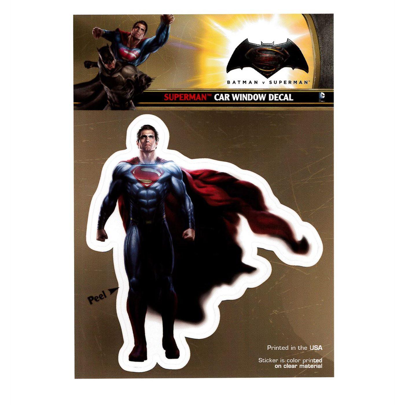 Batman Vs Superman Superman Decal