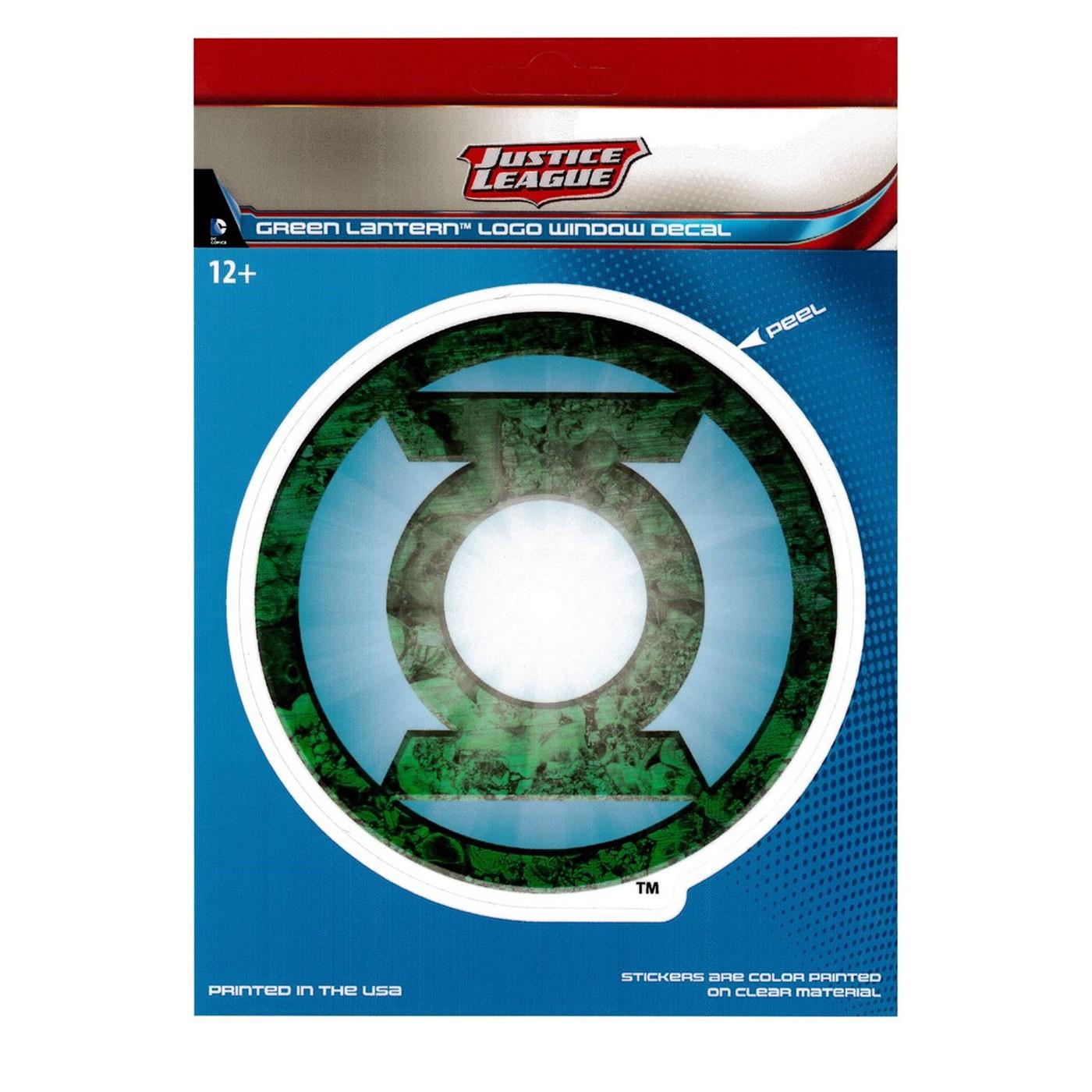 Green Lantern Symbol Car Window Decal