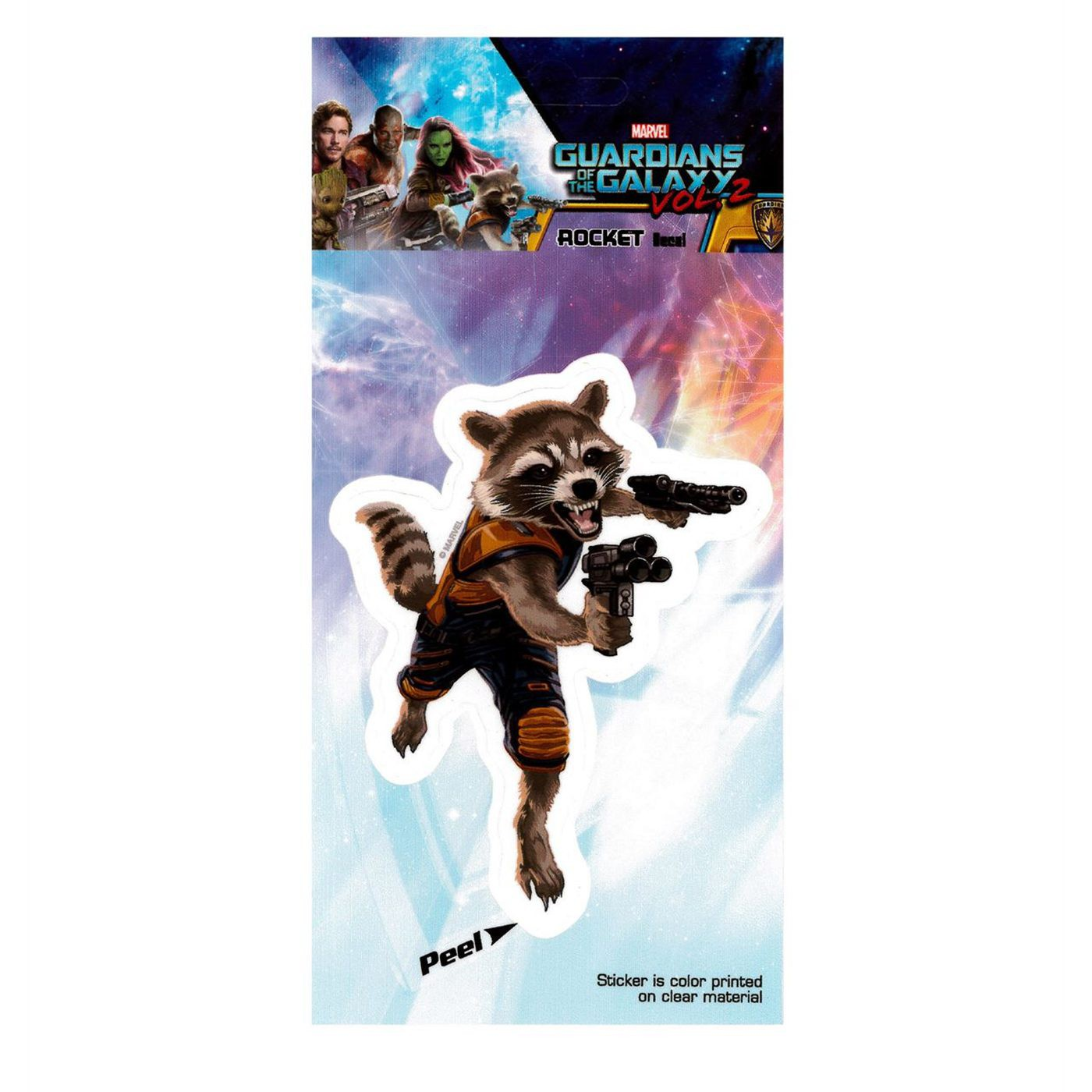 Guardians of the Galaxy Vol. 2 Rocket Raccoon Decal