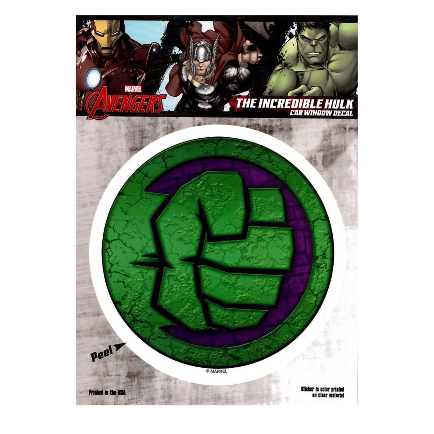 Hulk Fist Decal