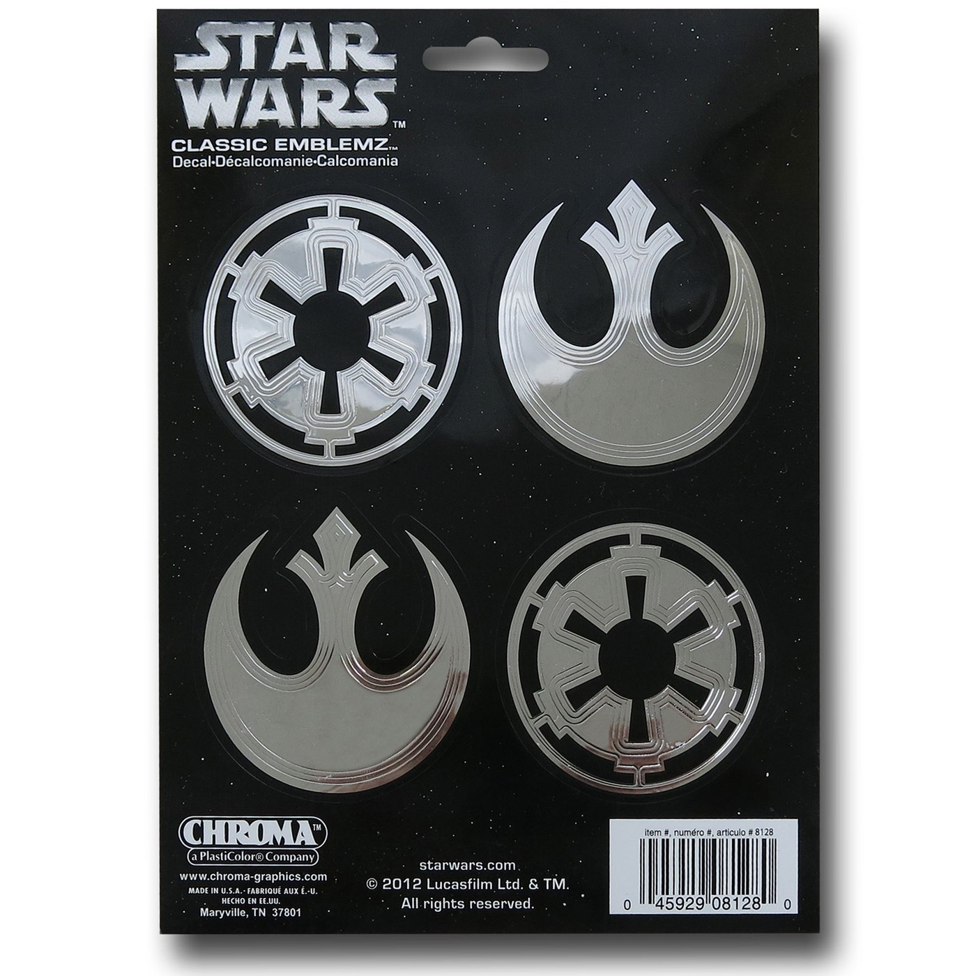 Star Wars Badges Decals