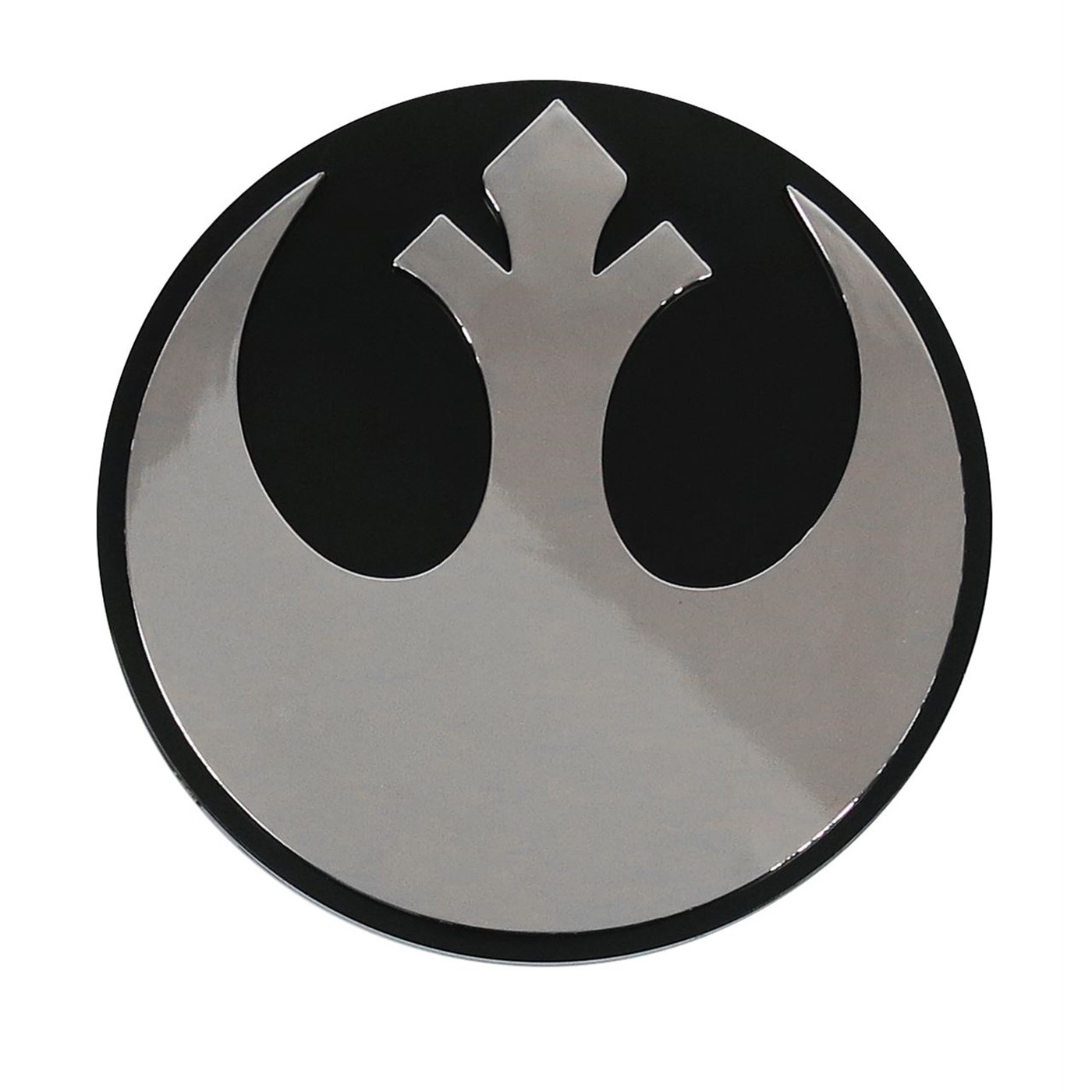 Star Wars Rebel Chrome Car Emblem