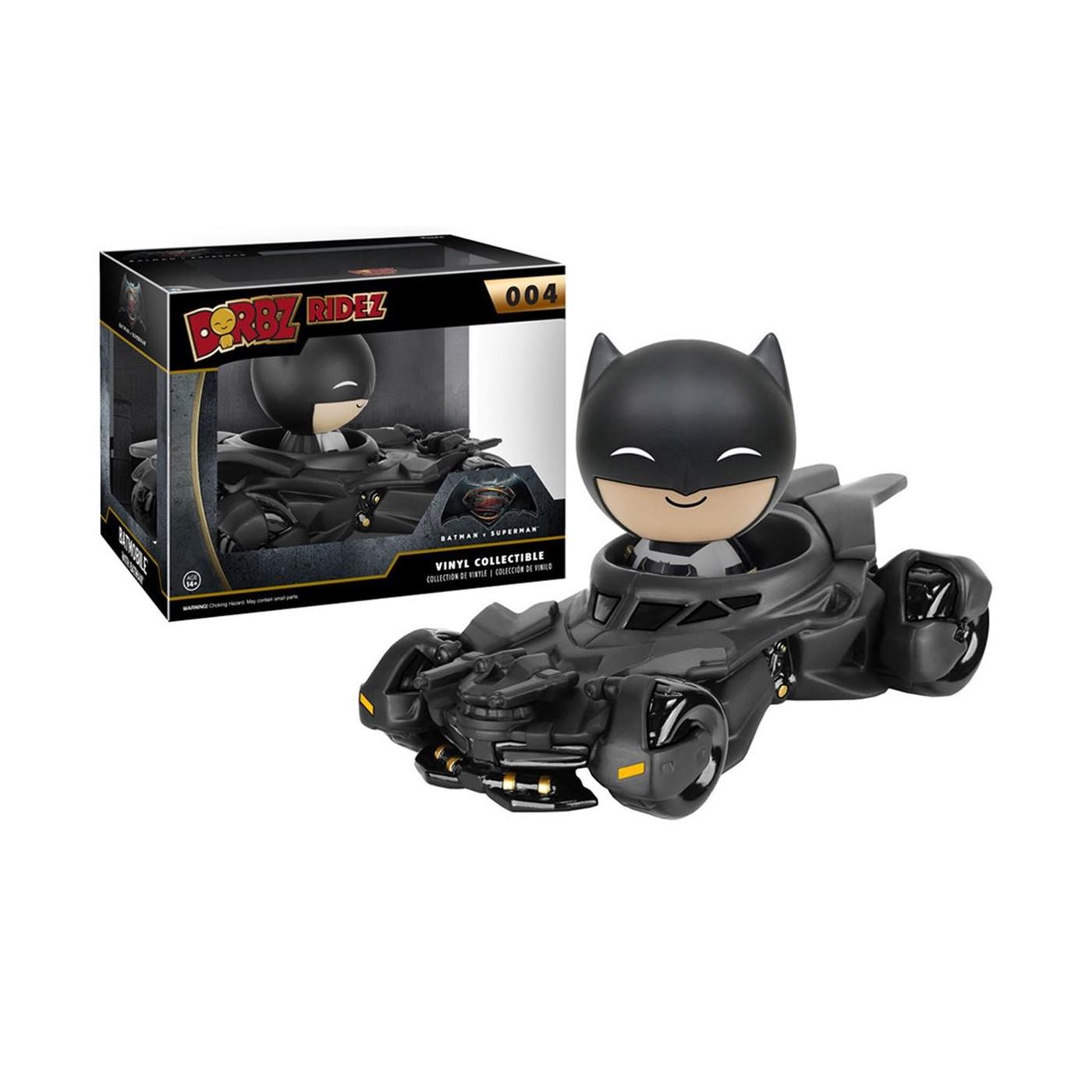 Batman Vs Superman Batmobile Dorbz Figure Set
