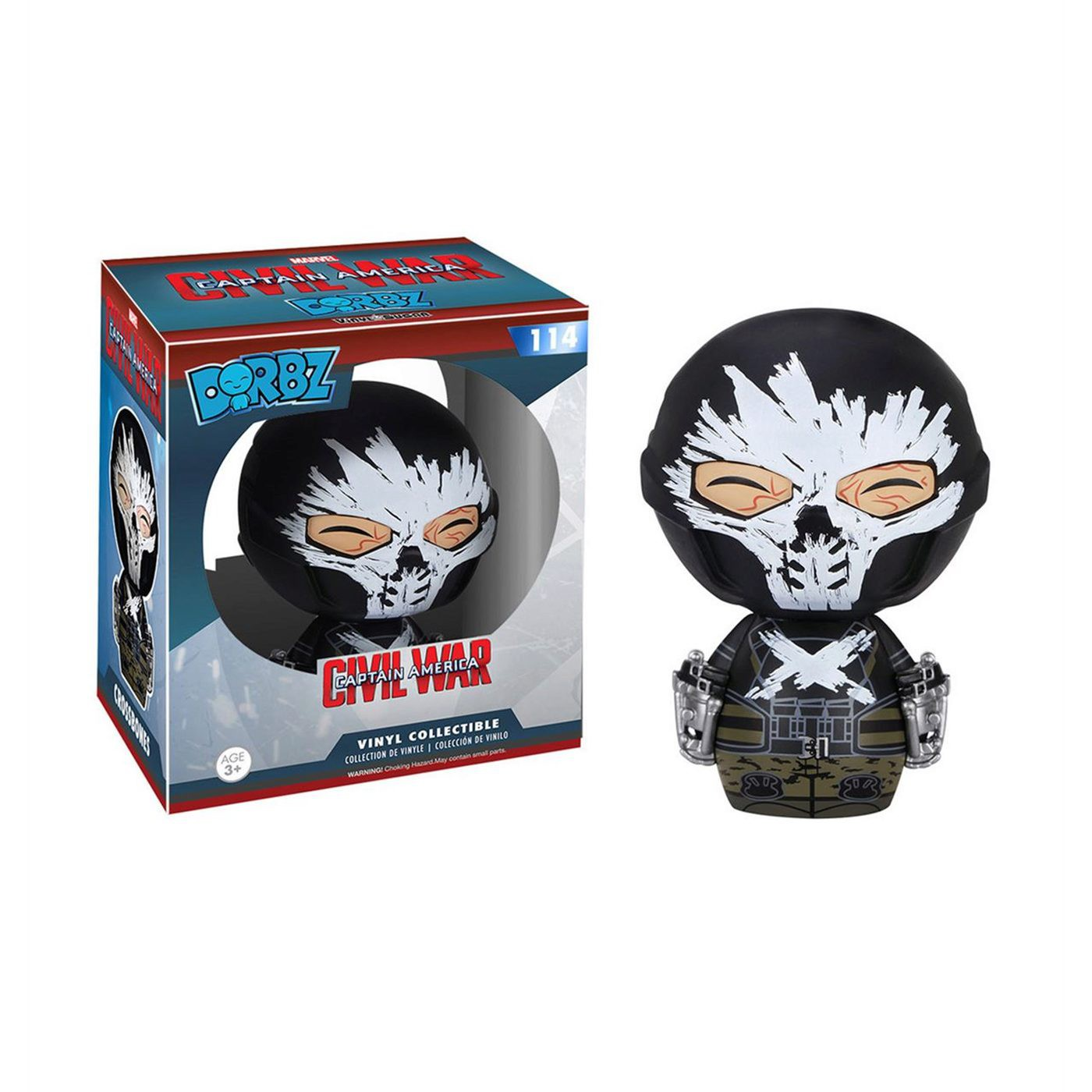 Captain America Civil War Crossbones Dorbz Figure