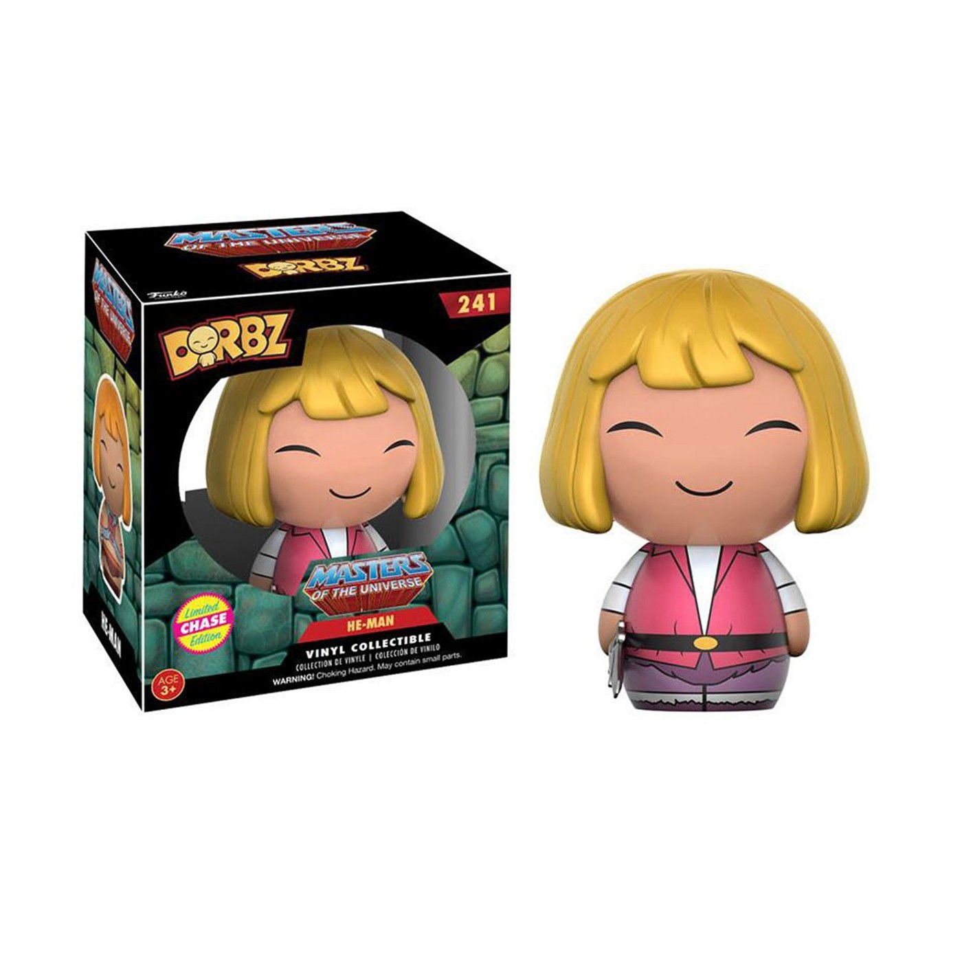He-Man Masters of the Universe Dorbz Chase Vinyl Figure