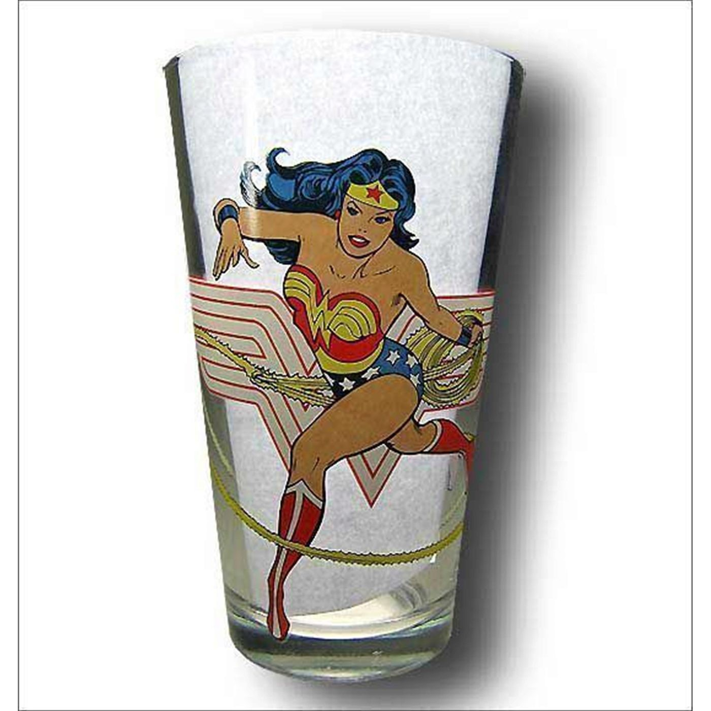 Wonder Woman Awesome Pint Glass
