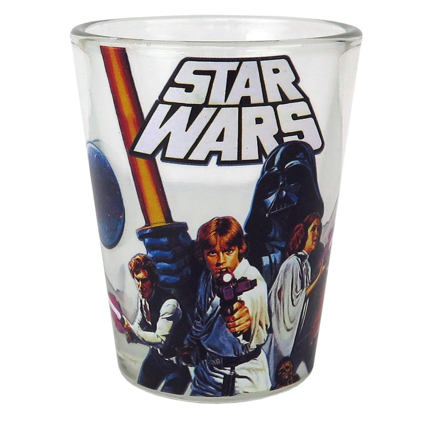 Star Wars Originals Mini Glass 4-Pack