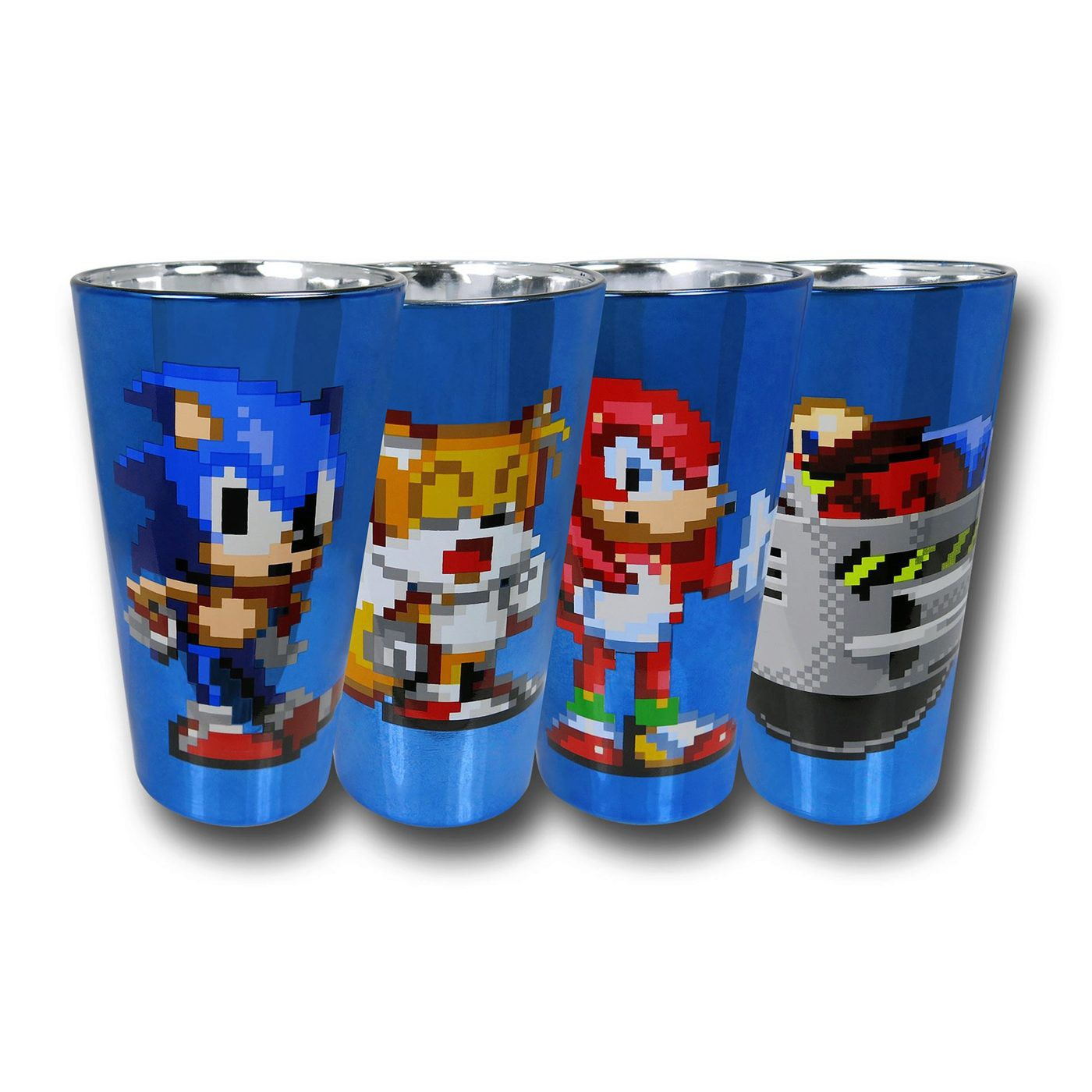 Sonic Aluminum Pint Glass 4-Pack