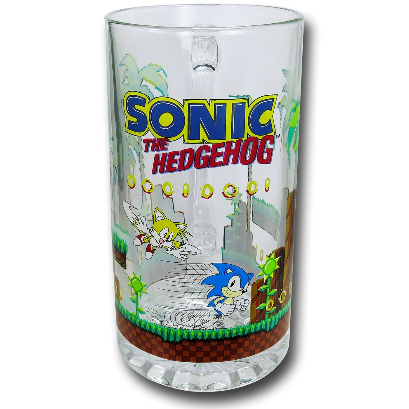 Sonic Oversized Glass Beer Mug