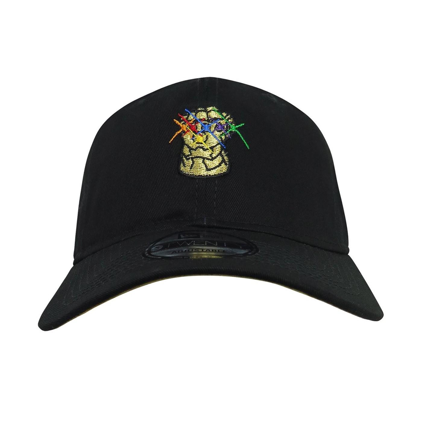 Infinity War Gauntlet Logo 9Twenty Adjustable Hat