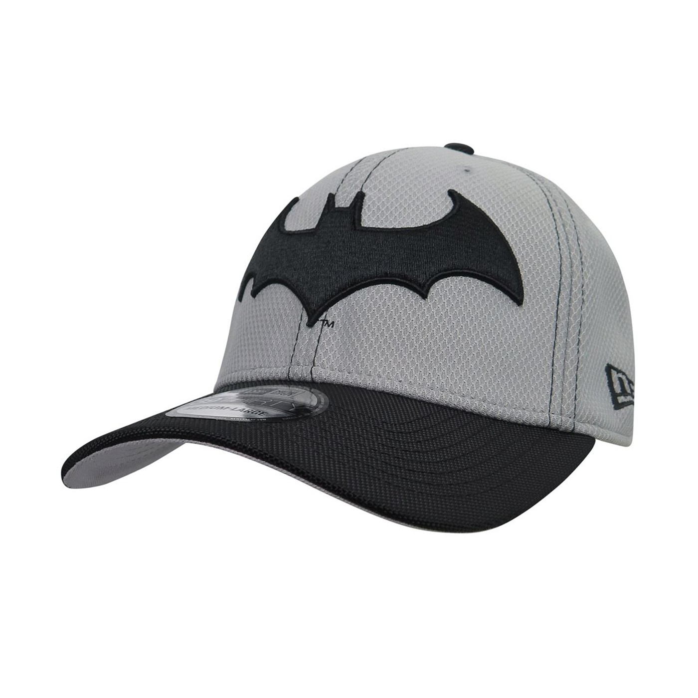 Batman Hush Symbol Armor 39Thirty Fitted Hat