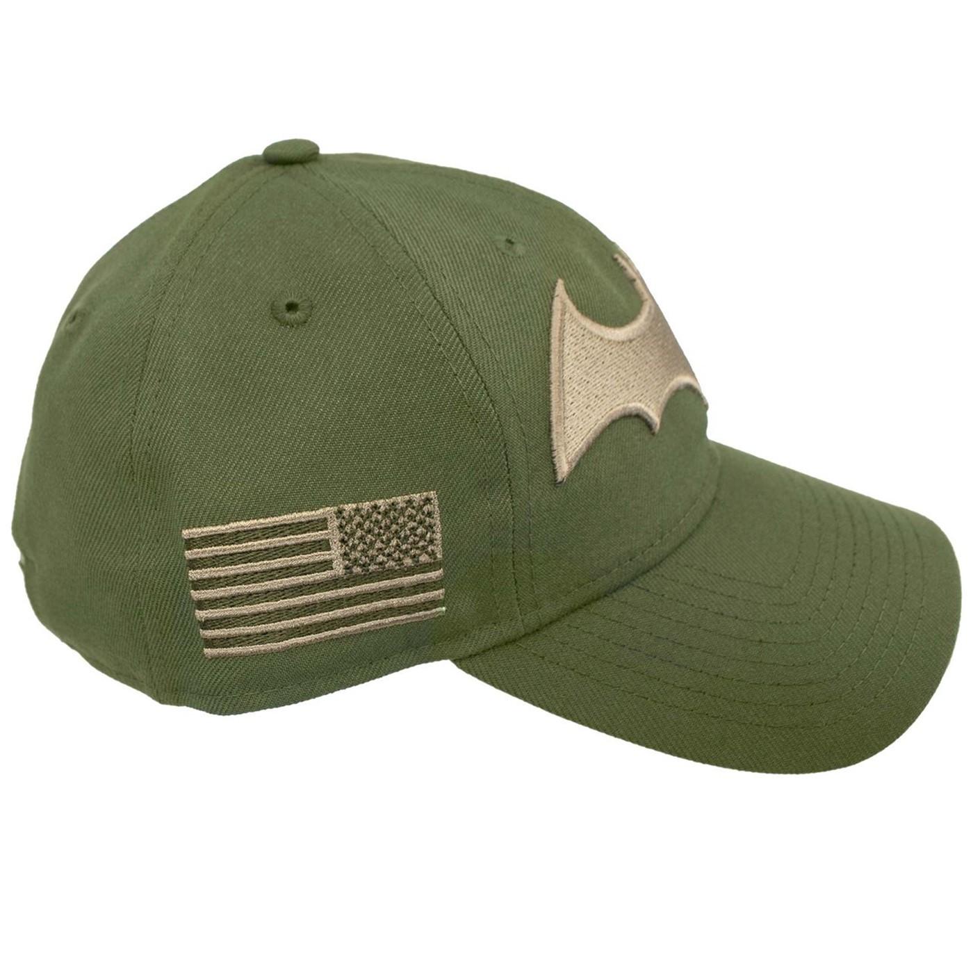 Batman Hush Salute to Service 9Twenty Adjustable Hat