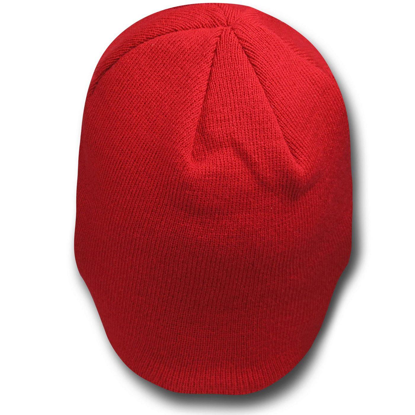 Red Lantern Symbol Beanie