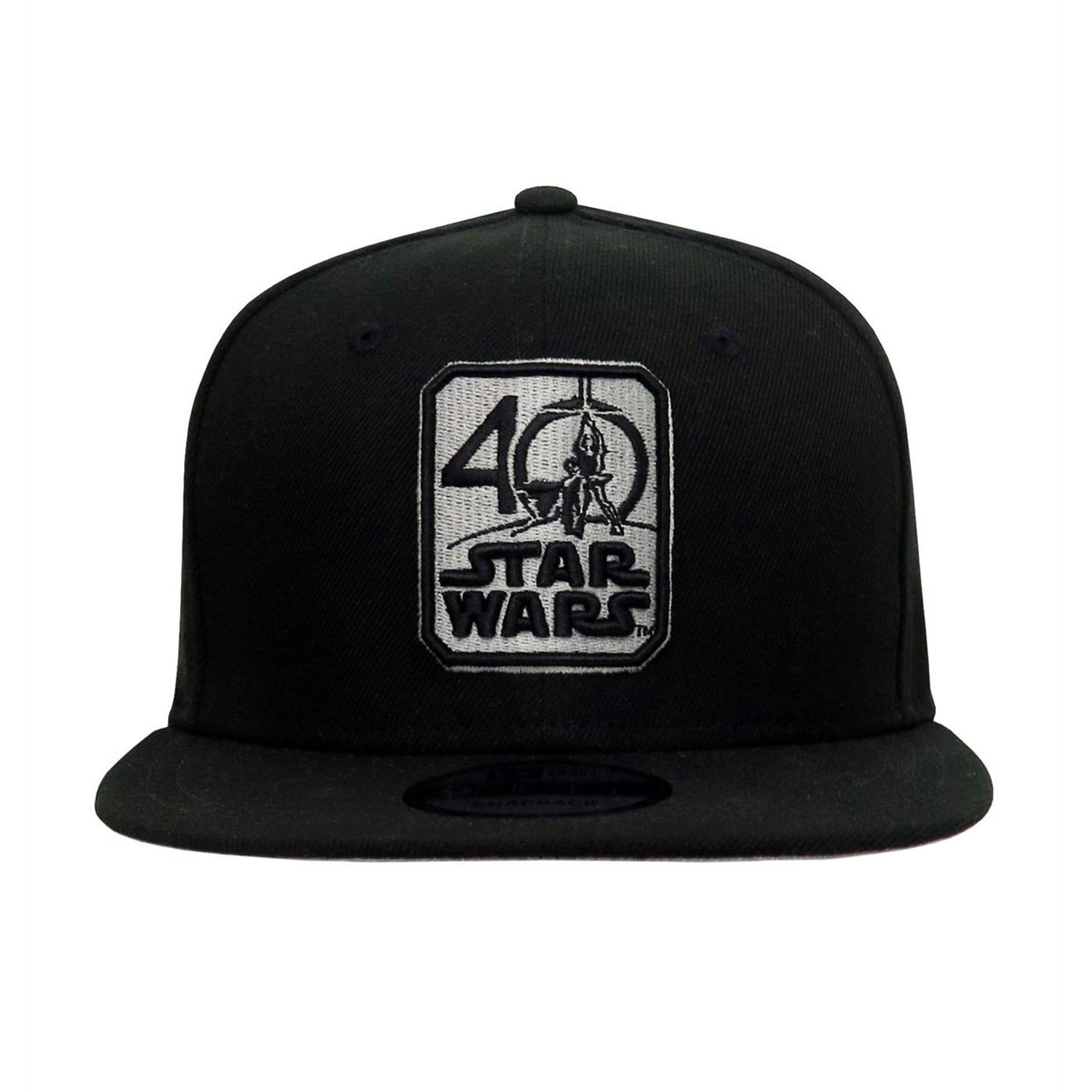 Star Wars 40th Anniversary Logo 9Fifty Adjustable Hat