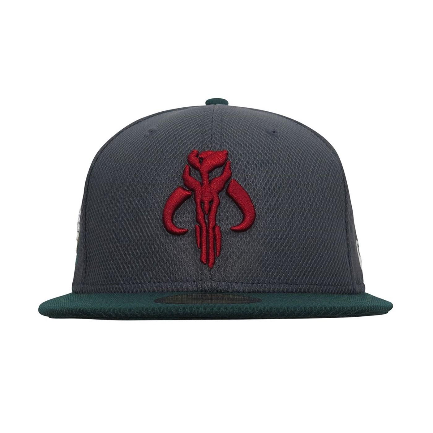 Star Wars Boba Fett Mandalorian 59Fifty Fitted Hat