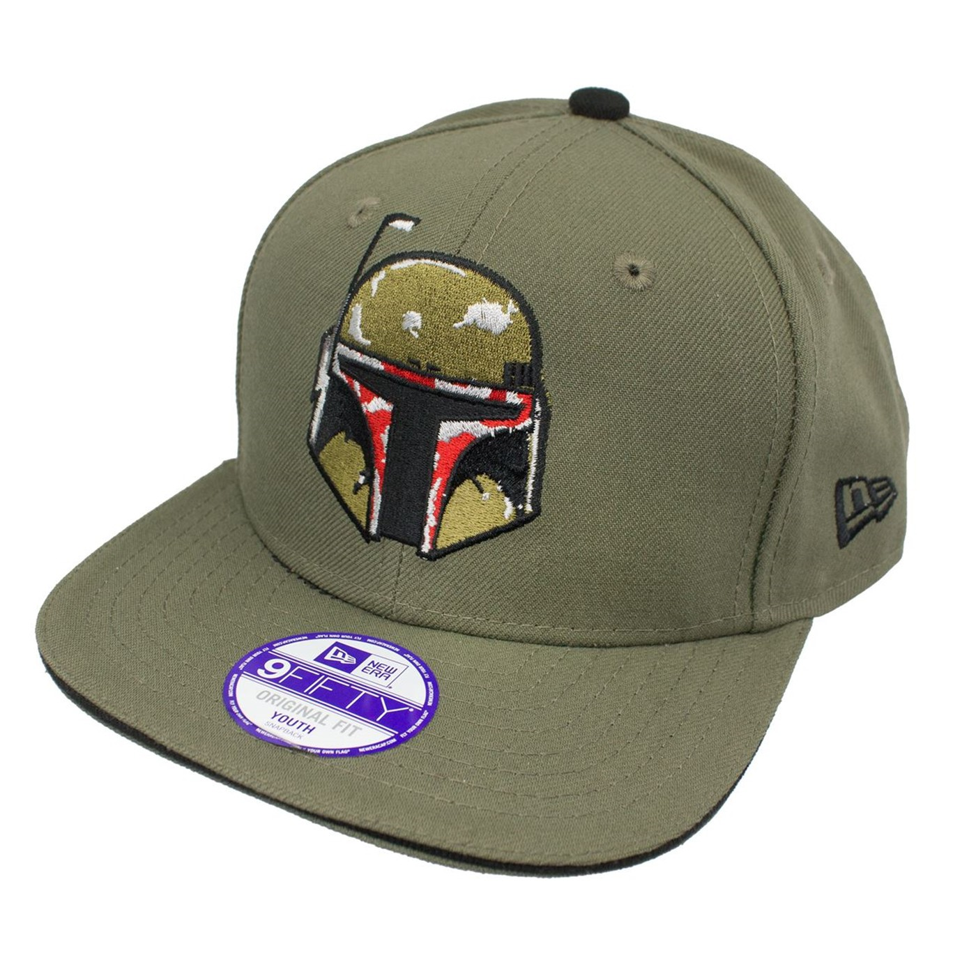 Star Wars Boba Fett New Era Kids 9Fifty Youth Adjustable Hat