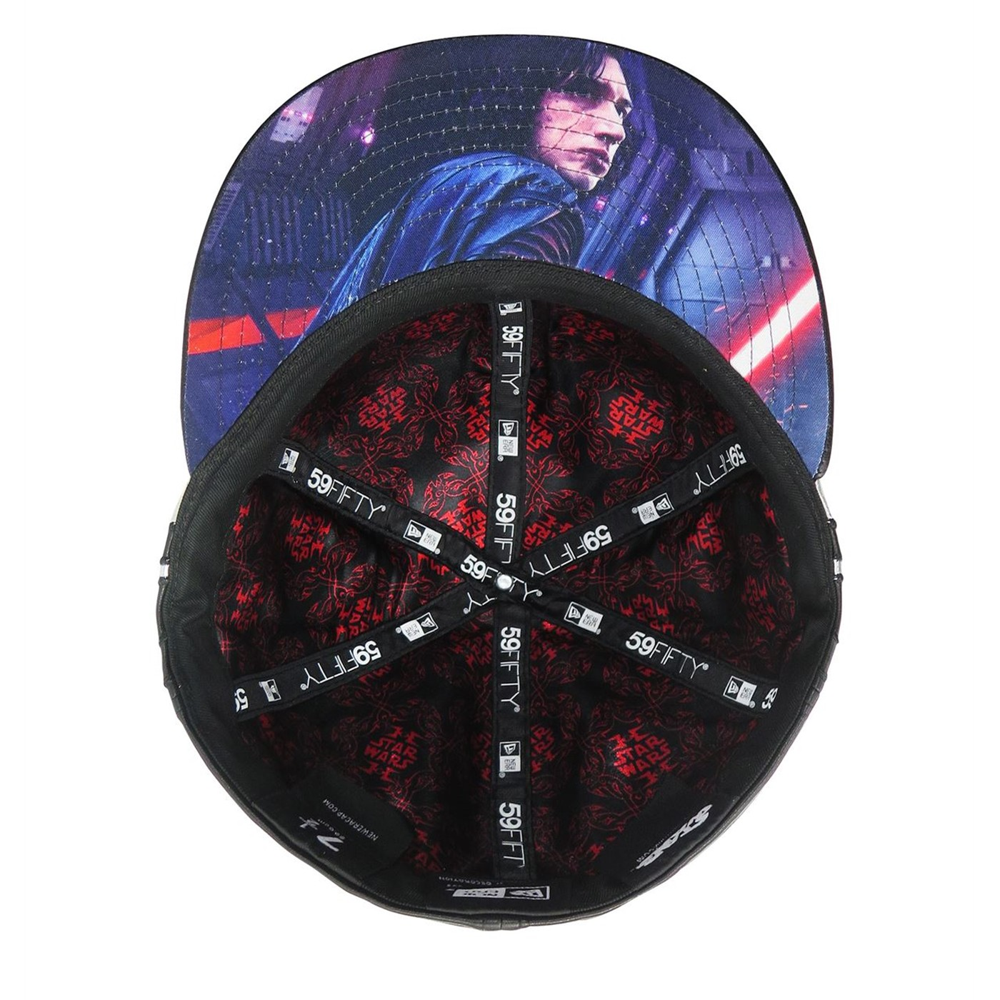 Star Wars Last Jedi Kylo Ren Armor 59Fifty Fitted Hat
