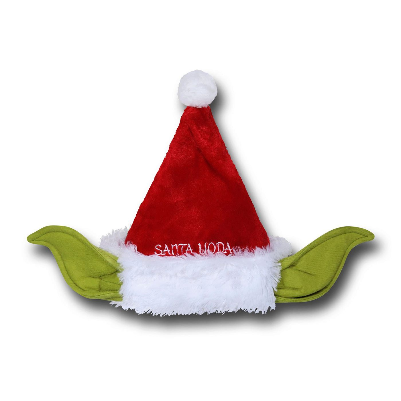 Star Wars Yoda Santa Hat