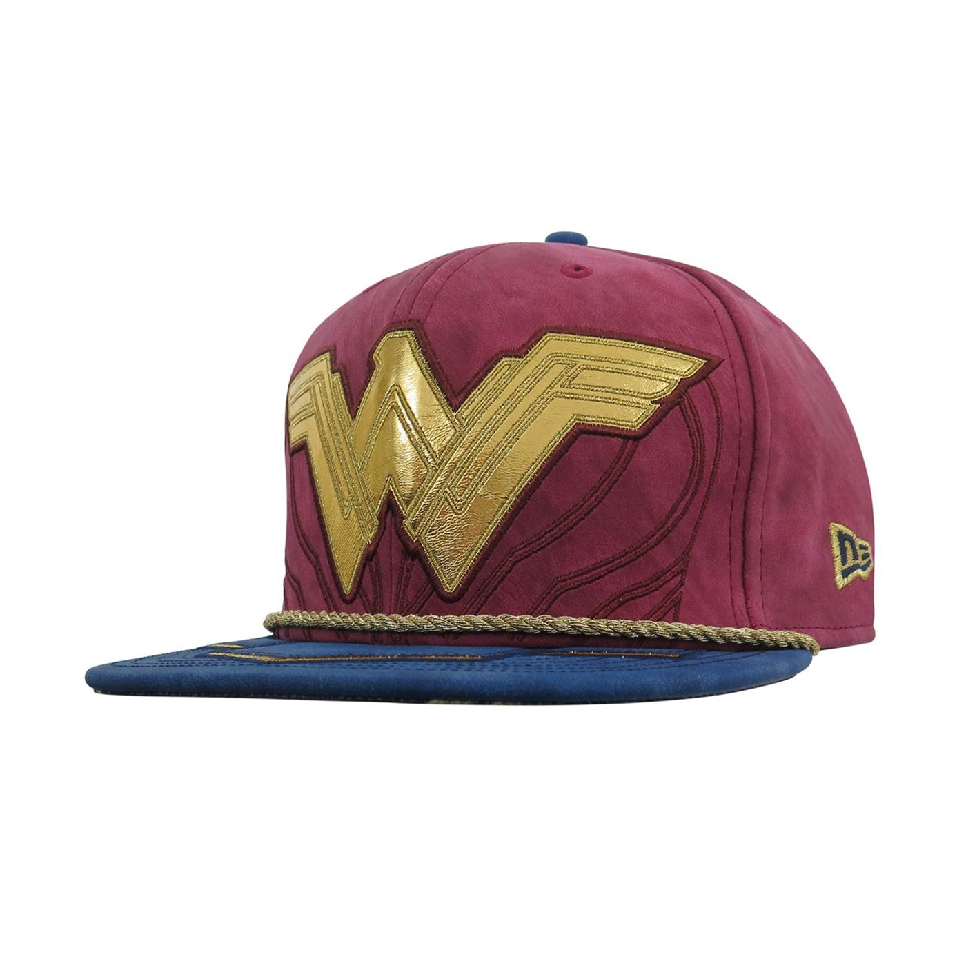 Wonder Woman Justice League Armor 59Fifty Fitted Hat