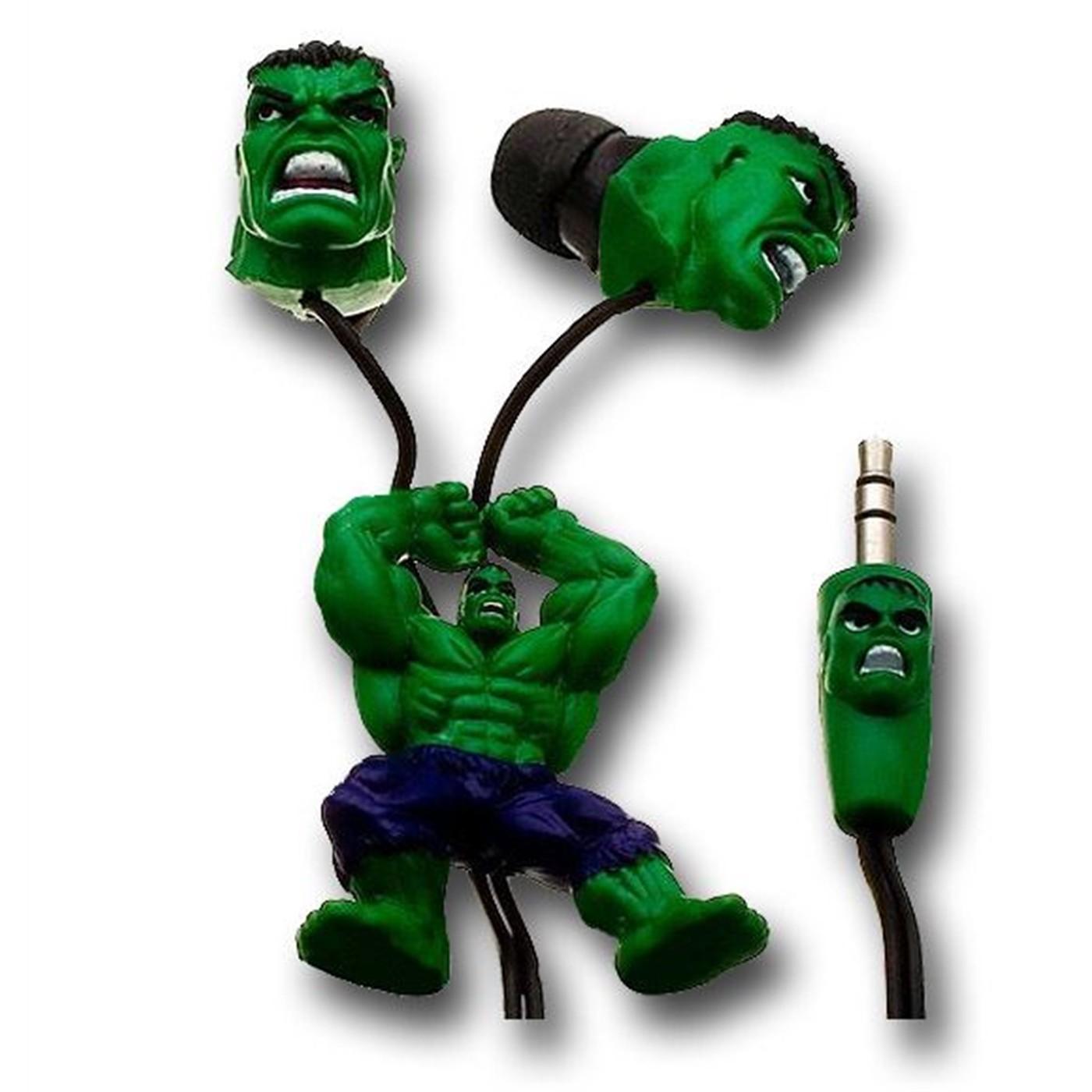 Hulk Rage Slider Earbuds