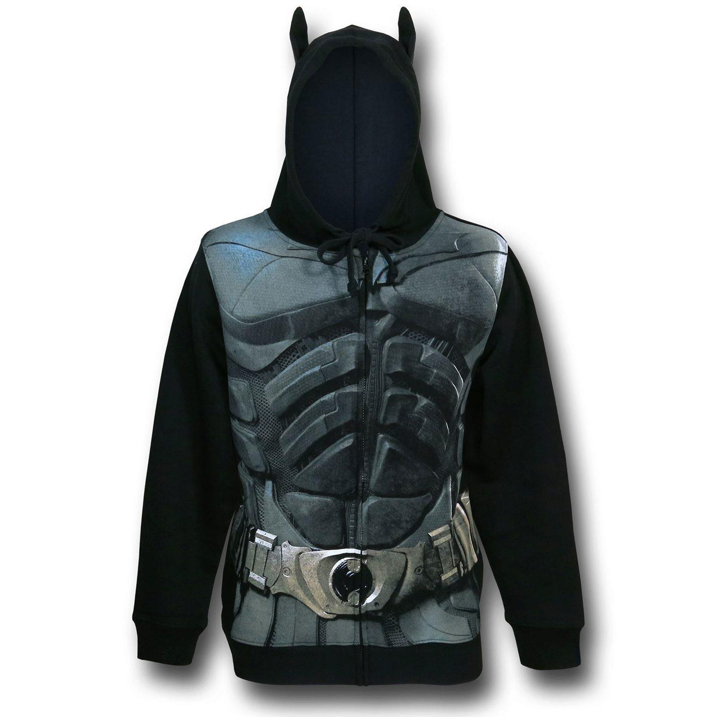 Batman Dark Knight Armor Costume Hoodie