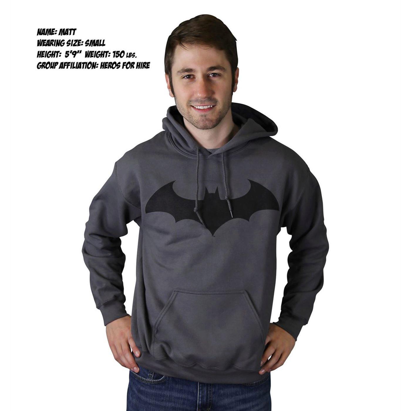 Batman Hush Symbol Hoodie Sweatshirt