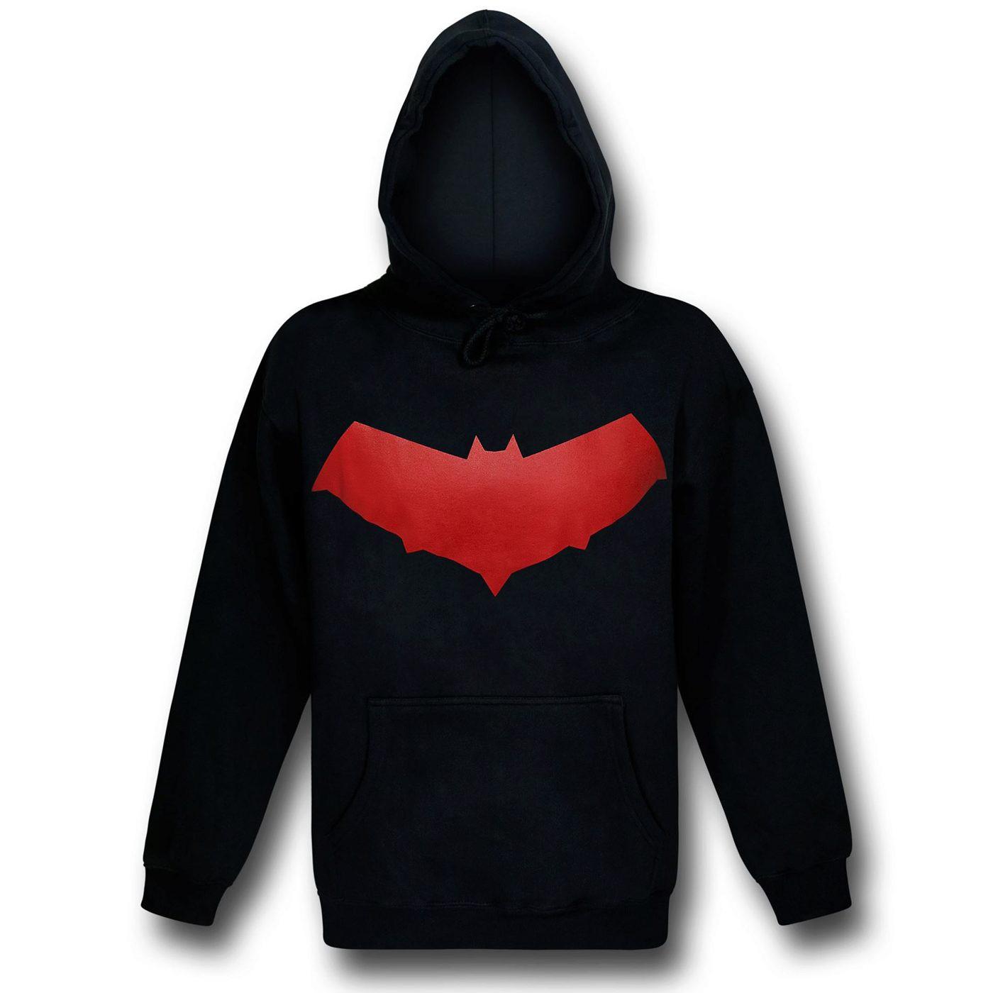Red Hood Symbol Jason Todd Pullover Hoodie