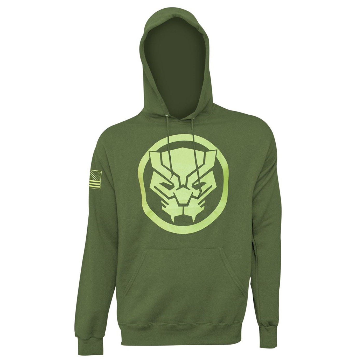 Black Panther Salute to Service Men's Hoodie