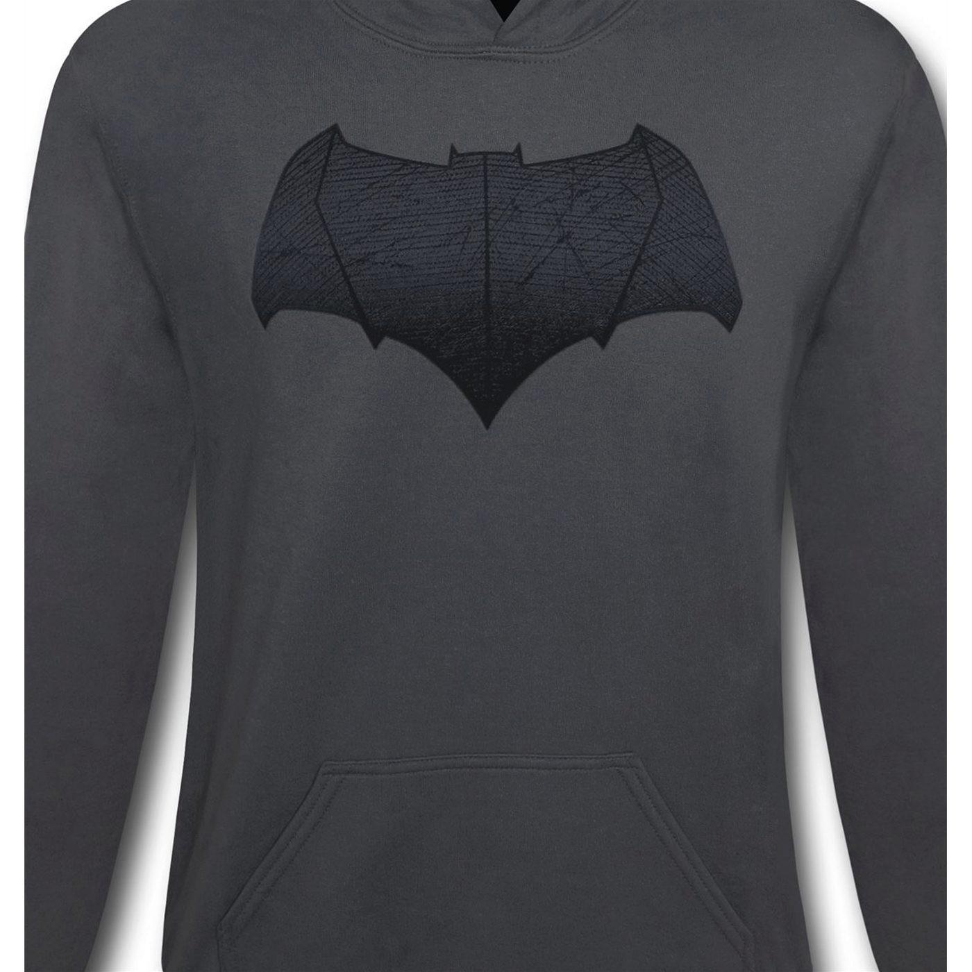 Batman Vs Superman Batman Symbol Hoodie