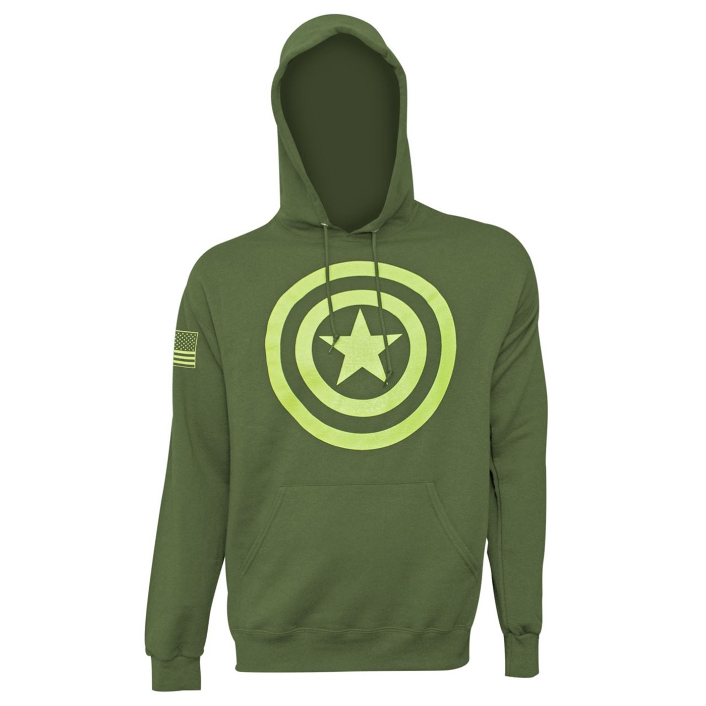 Captain America Salute to Service Men's Hoodie