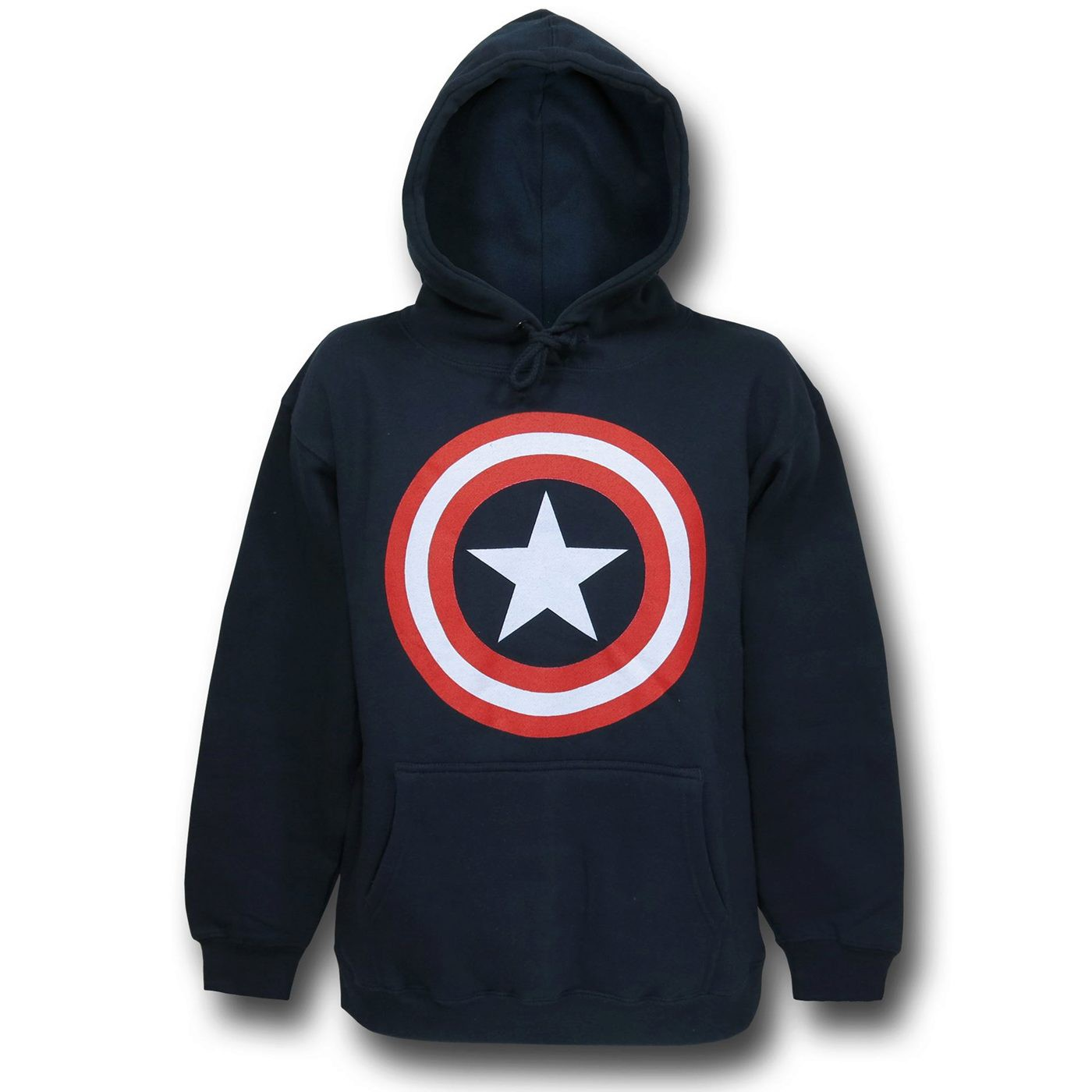 Captain America Shield Pullover Hoodie