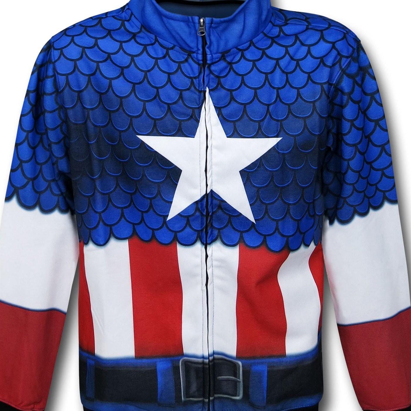 Captain America Lightweight Sublimated Costume Hoodie