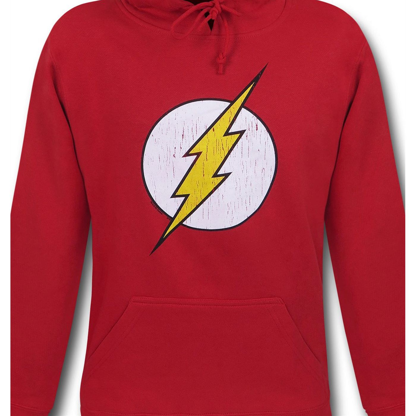 Flash Distressed Symbol Red Hoodie