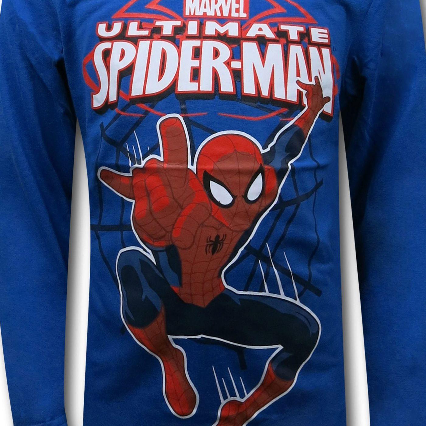 Spiderman Hoodie & Vest Kids Set