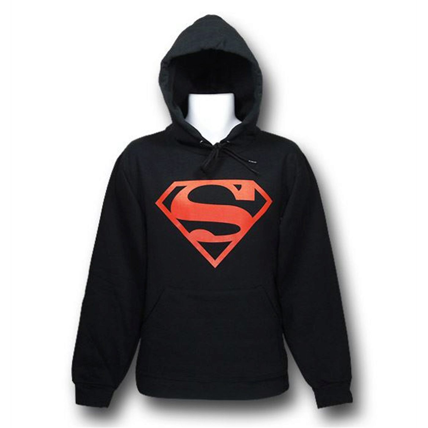 Superboy Hoodie Red Outline