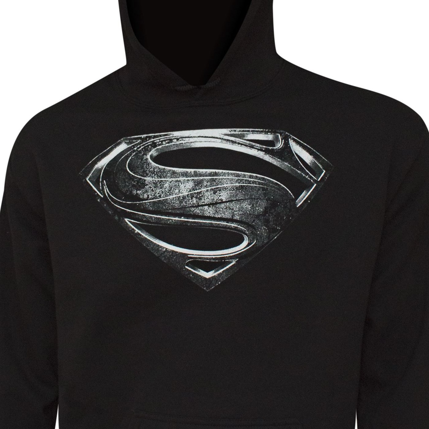 Superman Silver Movie Symbol Men's Hoodie