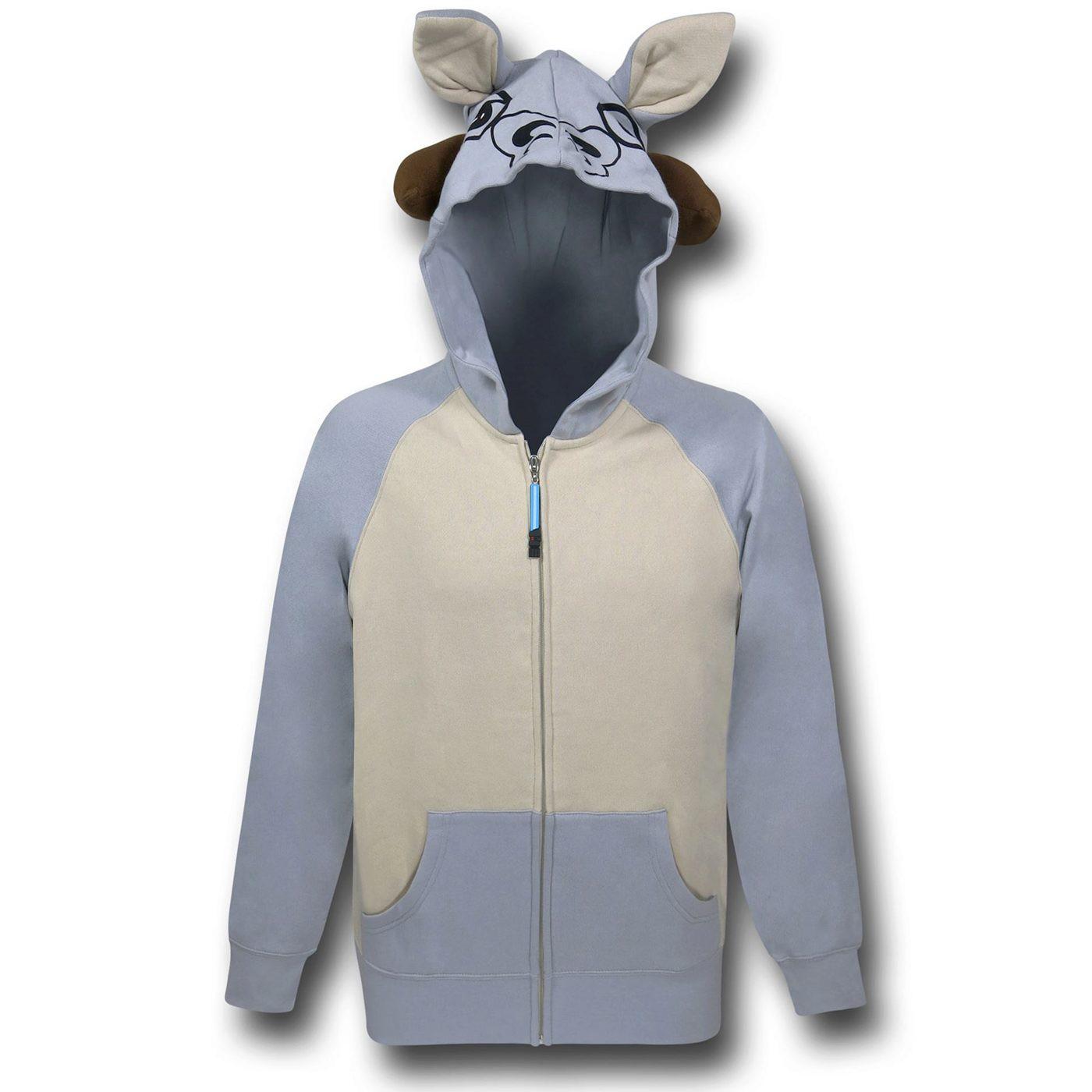 Star Wars Tauntaun Costume Hoodie