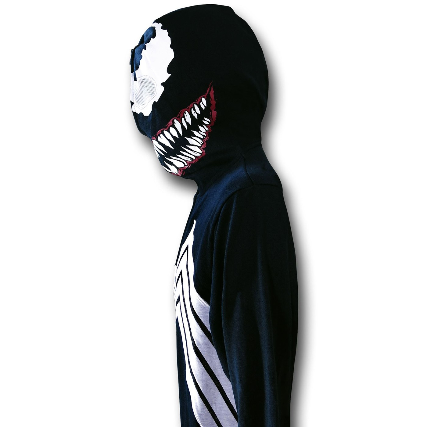Venom Big Grin Masked Costume Hoodie