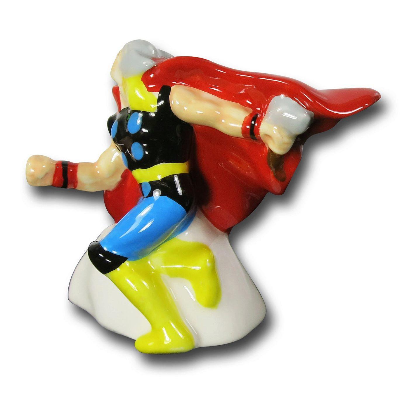 Thor Vs. The Destroyer Salt & Pepper Shakers