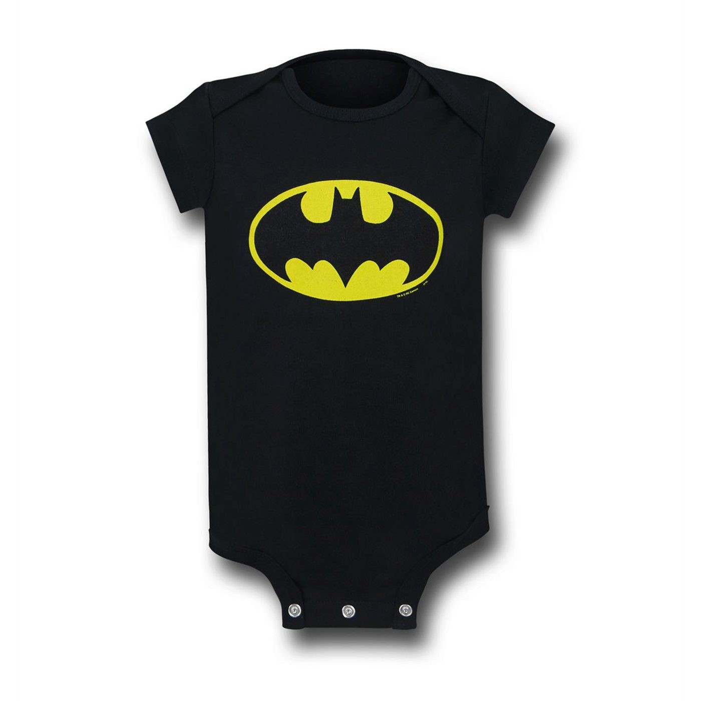 Batman Large Symbol Infant Snapsuit