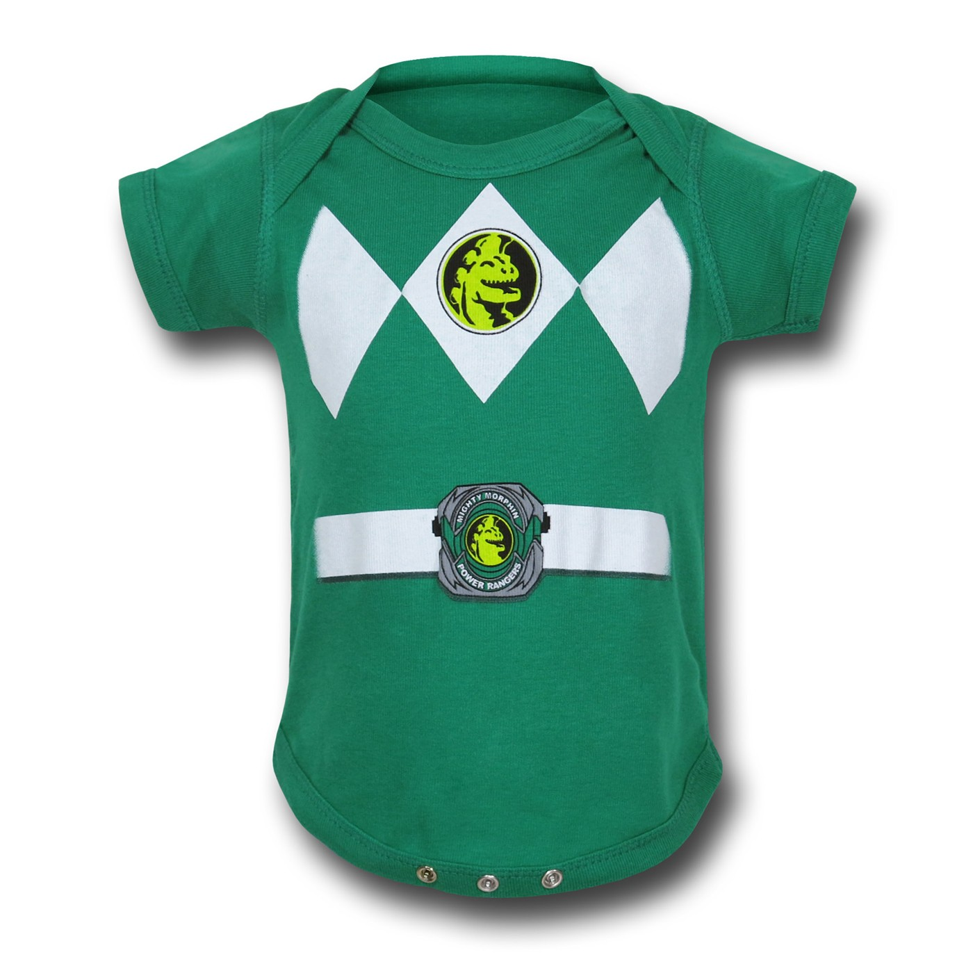 Power Rangers Green Infant Snapsuit