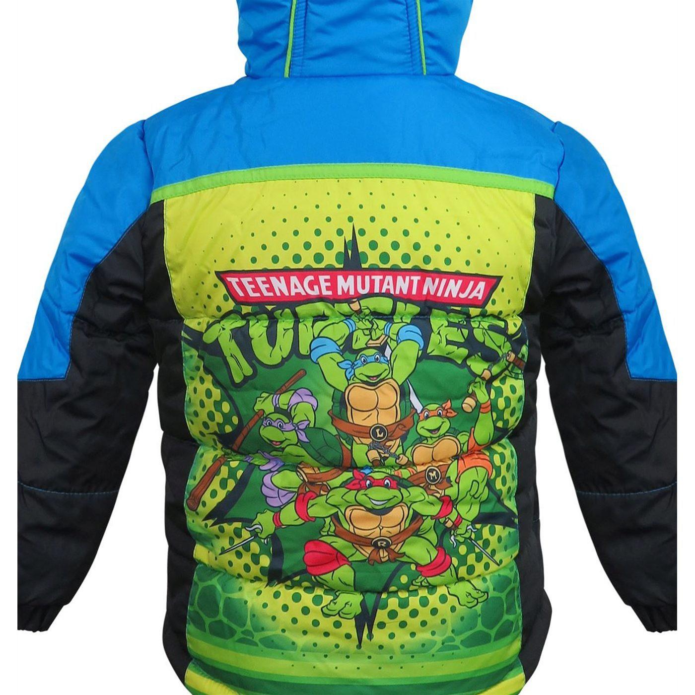 TMNT Kids Puffer Jacket